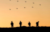 100 drone swarm russia