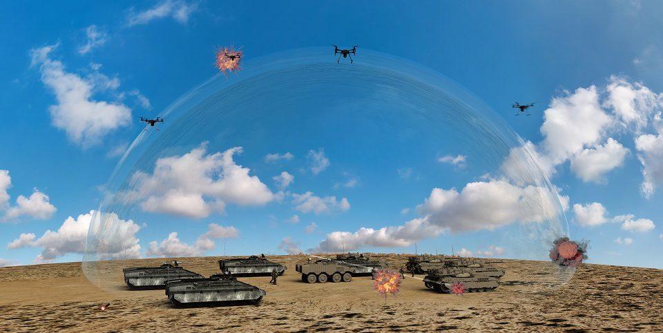 Israel laser interceptor
