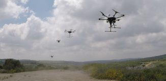 Simplex Interactive drone fleet