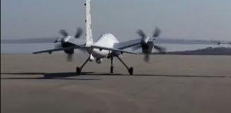 Turkish combat UAV