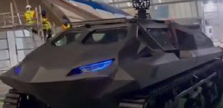 armored MPV