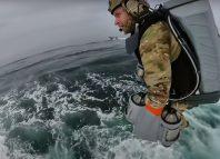 maritime boarding jet suit